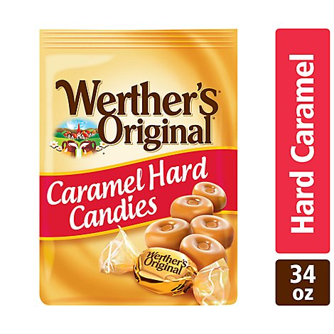 Werthers Original Caramel Hard Candies - 34 Oz