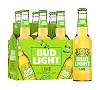 Bud Light Lime Beer Bottle - 6-12 Fl. Oz.
