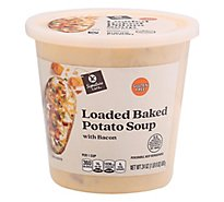 Signature Cafe Loaded Baked Potato Soup with Bacon - 24 Oz.