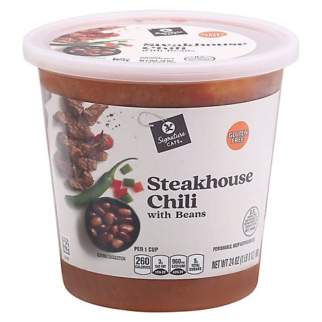 Signature Cafe Steakhouse Chili - 24 Oz.