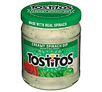 TOSTITOS Dip Creamy Spinach - 15 Oz