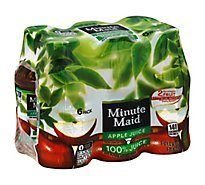 Minute Maid 100% Juice Apple - 6-10 Fl. Oz.