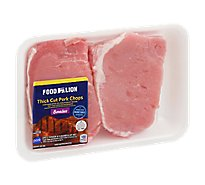 Meat Counter Pork Loin Chop Boneless Tenderized - 1 LB