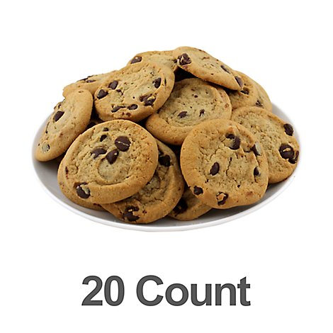 Bakery Cookies Chocolate Chip 20 Count - Each