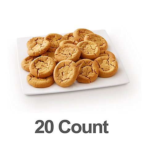 Fresh Baked Peanut Butter Cookies - 20 Count