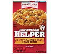 Betty Crocker Hamburger Helper Cheesy Italian Shells Box - 6.1 Oz