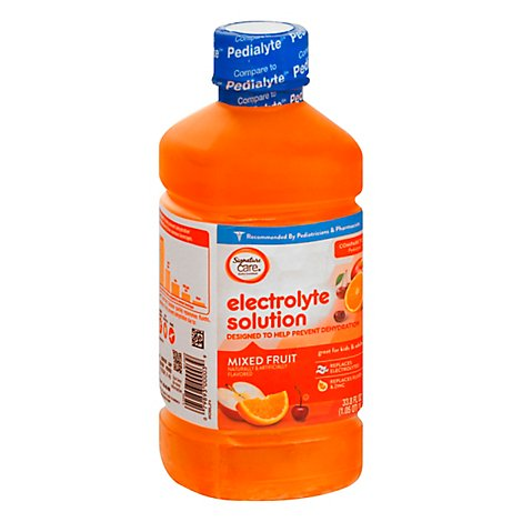 Signature Care Electrolyte Solution For Kids & Adults Mixed Fruit - 1 Liter
