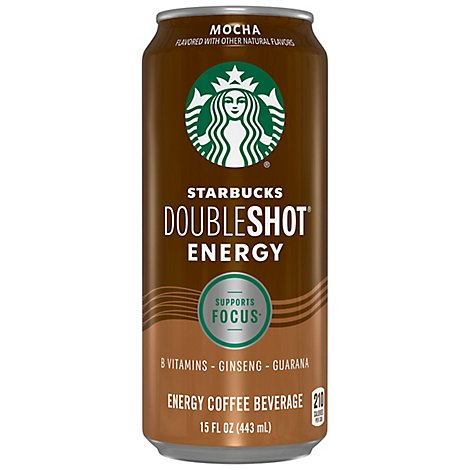 Starbucks Doubleshot Energy Coffee Beverage Mocha - 15 Fl. Oz.
