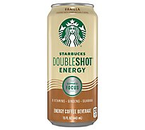 Starbucks Doubleshot Energy Coffee Beverage Vanilla - 15 Fl. Oz.