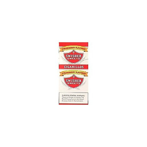 Swisher Sweets Cigarillos Strawberry - Case