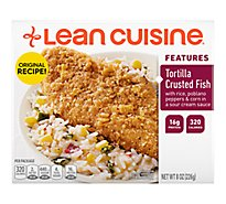 Lean Cuisine Marketplace Entree Tortilla Crusted Fish - 8 Oz