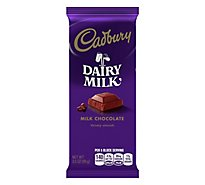Cadbury Milk Chocolate Velvety Smooth Bar - 3.5 Oz