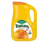 Tropicana Juice Pure Premium Orange Some Pulp Homestyle Chilled - 89 Fl. Oz.