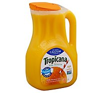 Tropicana Juice Pure Premium Orange No Pulp Calcium + Vitamin D Chilled - 89 Fl. Oz.