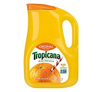 Tropicana Juice Pure Premium Orange No Pulp Original Chilled - 89 Fl. Oz.