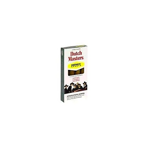 Dutch Masters Honey Sports Cigars - 4 Count