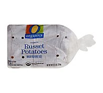 Organic Russett Potatoes Prepackaged - 3 Lb