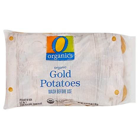 O Organics Organic Gold Potatoes Prepackaged - 3 Lb