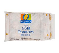 O Organics Organic Potatoes Gold Prepacked - 3 Lb