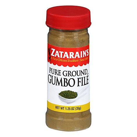 Zatarains Gumbo File Pure Ground - 1.25 Oz