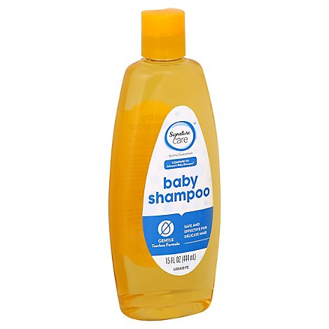 Signature Care Baby Shampoo Gentle Tearless Formula - 15 Fl. Oz.