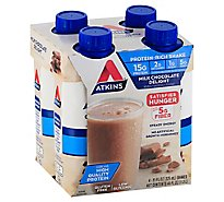 Atkins Shake Milk Chocolate Delight - 4-11 Fl. Oz.