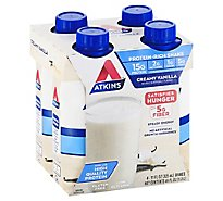 Atkins Shake French Vanilla - 4-11 Fl. Oz.