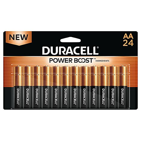 Duracell Battery Copper Top Alkaline AA - 24 Count