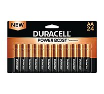 Duracell Battery Alkaline Duralock AA - 24 Count