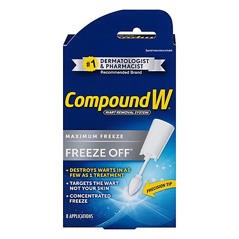 Compound W Freeze Off Wart Removal System - 8 Count
