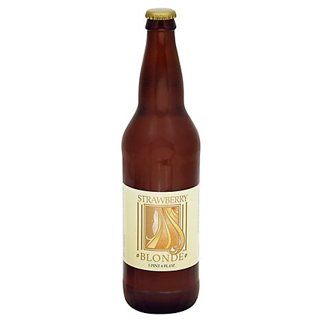 Belmont Brewing Strawberry Blonde Ale In A Bottle - 22 Fl. Oz.