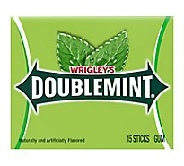 Wrigleys Doublemint Chewing Gum Single Pack