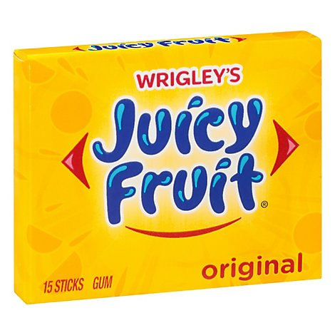Juicy Fruit Original Bubble Gum Single Pack