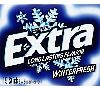 Extra Sugar Free Chewing Gum Winterfresh Single Pack - 15 Count