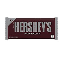 HERSHEYS Candy Bar Milk Chocolate - 4.4 Oz