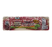 Meat Counter Pork Loin Backribs Extra Meaty Previously Frozen - 3 LB