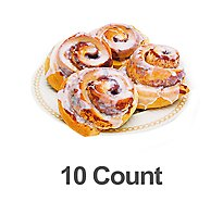 Bakery Cinnamon Roll Old Fashion Gourmet 10- Count - Each