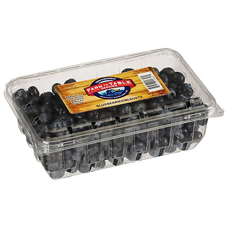 Blueberries Prepacked - 18 Oz
