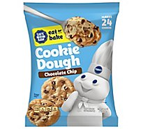 Pillsbury Ready To Bake! Cookies Chocolate Chip With Hersheys Chocolate Chips 24 Count - 16 Oz