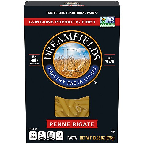 Dreamfields Pasta Penne Rigate Box - 13.25 Oz