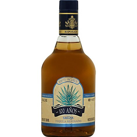 Sauza Tequila Cien Anos Reposado 80 Proof - 750 Ml