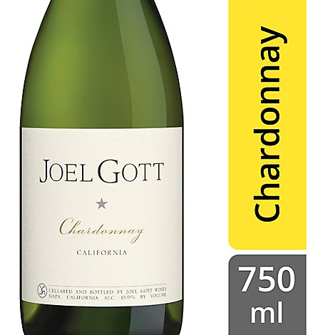 Joel Gott Wine Chardonnay Unoaked California - 750 Ml