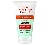 Neutrogena Acne Stress Control Power-Clear Scrub Oil-Free - 4.2 Fl. Oz.