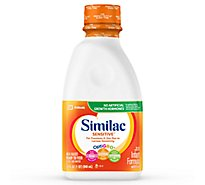 Similac Sensitive Infant Formula For Fussiness and Gas With Iron Ready To Feed - 32 Fl. Oz.