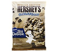 Pillsbury Ready To Bake! Cookies Big Deluxe Hersheys Cookies N Cream 12 Count - 16 Oz