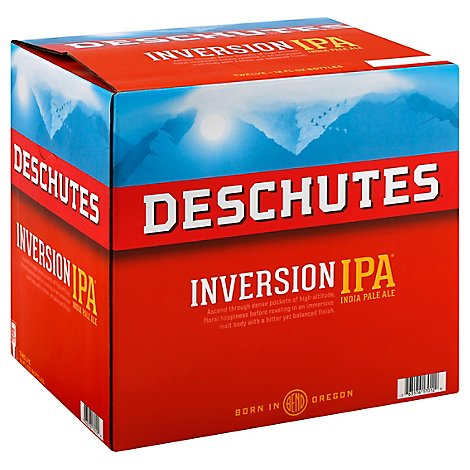 Deschutes Inversion IPA Bottles - 12-12 Fl. Oz.
