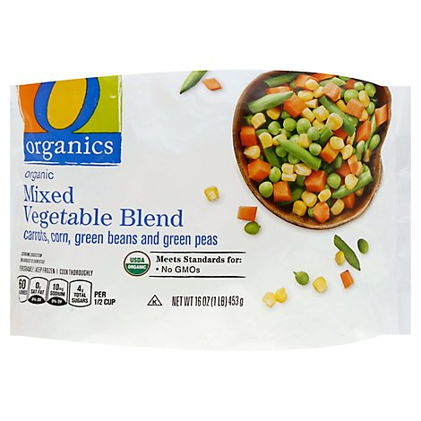 O Organics Organic Vegetables Mixed Blend - 16 Oz