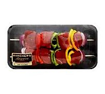 Meat Counter Kabobs Vegetable With Bell Pepper & Onion Kentucky Bourbon Packaged 2 Count - 1.50 LB