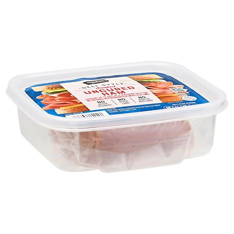 Signature Select Ham Smoked Thin Sliced 97% Fat Free - 8 Oz