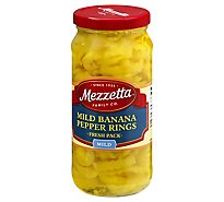 Mezzetta Pepper Rings Deli-Sliced Mild - 16 Oz
